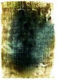 Grüner grunge Auszug Stockfoto