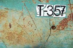 Grüner grunge Hintergrund [T357] Lizenzfreies Stockbild