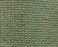 Grüner Häkelarbeit-Flecken Stockbild