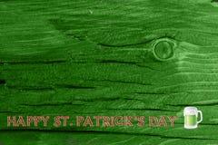 Grüner hölzerner Beschaffenheitshintergrund Heiliges Patrickâs Tag Hintergrund Str Grüne hölzerne Beschaffenheit Stockbild