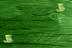 Grüner hölzerner Beschaffenheitshintergrund Heiliges Patrickâs Tag Hintergrund Str Grüne hölzerne Beschaffenheit Lizenzfreie Stockbilder