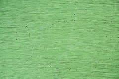 Grüner hölzerner Beschaffenheitswandhintergrund Stockbilder