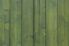 Grüner hölzerner Hintergrund Lizenzfreies Stockbild