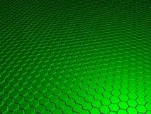 Grüner Hintergrund 3d Lizenzfreie Stockfotografie