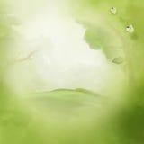 Grüner Hintergrund der Fantasie Landschafts Stockfotos
