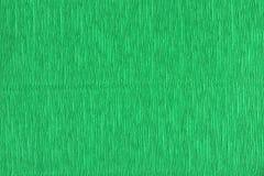 Grüner Hintergrund der Wellpappe Stockfoto