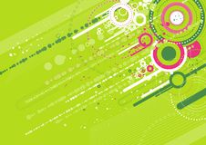 grüner Hintergrund, Vektor Lizenzfreie Stockfotos