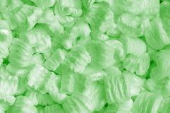 Grüner Schaum Stockfoto