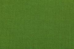 Grüner Hintergrund von einem Textilmaterial mit Muster, Nahaufnahme Struktur des Gewebes mit natürlicher Beschaffenheit Stockbilder