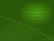 Grüner industrieller Auszug Lizenzfreie Stockbilder