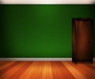 Grüner Innenhintergrund vektor abbildung