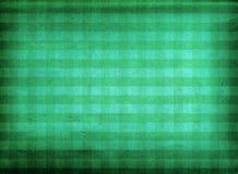 Grüner karierter Gewebehintergrund Lizenzfreie Stockbilder