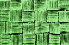 Grüner Kontrolleur gesponnenes Muster Lizenzfreie Stockbilder