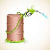 Grüner Kraftstoff stock abbildung