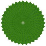 Grüner Kreis von den Blättern Lizenzfreie Stockfotos