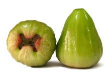 Grüner Malabarapfel zwei Stockbild
