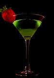 Grüner Martini Stockfotografie