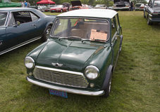 1981 grüner Mini Car Lizenzfreie Stockfotografie