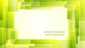 Grüner modischer abstrakter Hintergrund Lizenzfreies Stockfoto