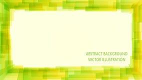Grüner modischer abstrakter Hintergrund Lizenzfreie Stockfotos
