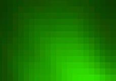 Grüner Mosaikhintergrund. vektor abbildung