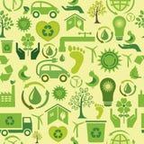 Grüner nahtloser Hintergrund Stockbild
