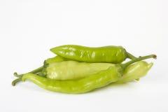 Grüner Paprika Stockfotos