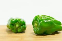 Grüner Paprikapfeffer Lizenzfreie Stockbilder