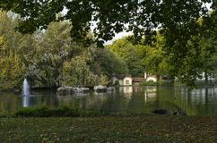 Grüner Park London Großbritannien Lizenzfreie Stockfotos
