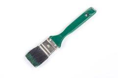 Grüner Pinsel Stockbild