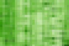Grüner Pixelhintergrund Lizenzfreie Stockfotos