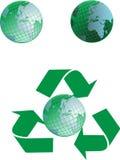 Grüner Planet Lizenzfreies Stockfoto