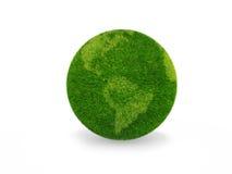 Grüner Planet Stockbild