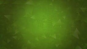 Grüner polygonaler abstrakter Hintergrund Lizenzfreie Stockfotografie