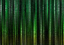 Grüner polygonaler Lichtvorhang-Zusammenfassungs-Hintergrund Lizenzfreie Stockbilder