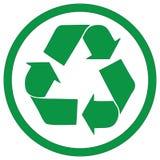 Grüner Punkt Lizenzfreie Stockbilder