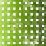 Grüner quadratischer abstrakter Hintergrund Lizenzfreies Stockfoto