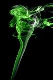 Grüner Rauch lizenzfreies stockbild