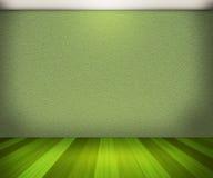 Grüner Raum-Hintergrund lizenzfreie abbildung