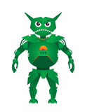 Grüner Robotervektor Lizenzfreies Stockfoto