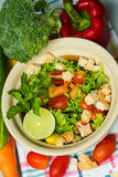 Grüner Salat _1 Lizenzfreies Stockfoto