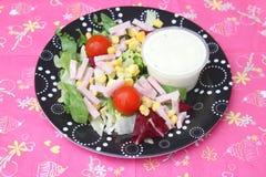 Grüner Salat _1 lizenzfreie stockbilder