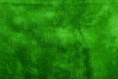 Grüner Samt Stockbild