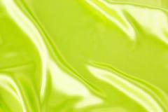 Grüner Satin Lizenzfreie Stockbilder