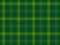Grüner schottischer Tartan Lizenzfreie Stockfotografie