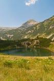 Grüner See auf Pirin Berg Lizenzfreie Stockfotografie
