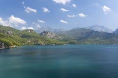 Grüner See die Türkei - Oymapinar Stockfotografie