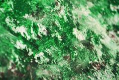 Grüner silberner purpurroter weißer unscharfer Malereiaquarellhintergrund, Aquarellacryl, das abstrakten Hintergrund malt lizenzfreies stockfoto