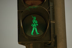 Grüner Soldat Stockfotografie