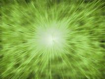 Grüner Stern Lizenzfreie Abbildung